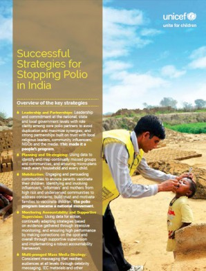 India's Triumph Over Polio - Successful Strategies for Stopping Polio in India